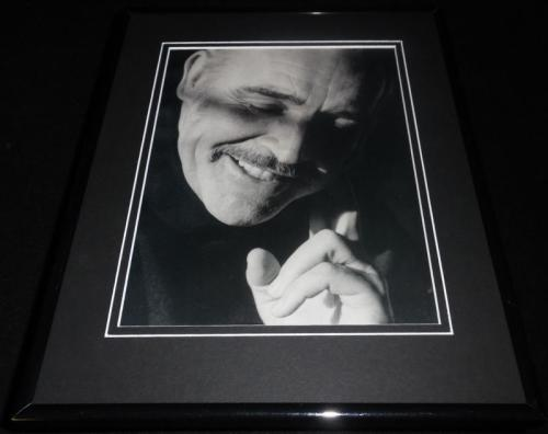 Sean Connery 1962 Framed 11x14 Photo Display