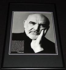Sean Connery 1998 Framed 12x18 Photo Display