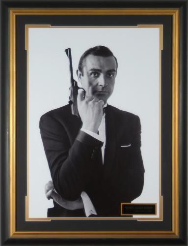 Sean Connery James Bond – Photo Framed 20×30