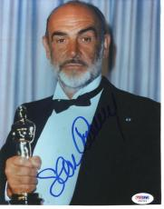 Sean Connery Academy Awards Signed 8X10 Photo PSA/DNA #J00316