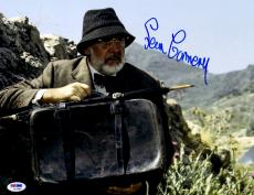 "Sean Connery Autographed 11""x 14"" Indiana Jones Holding Bag Photograph - PSA/DNA LOA"
