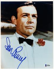 "Sean Connery Autographed 8"" x 10"" James Bond Head Shot Photograph - BAS COA"