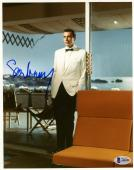 "Sean Connery Autographed 8"" x 10"" James Bond White Tux Photograph - BAS COA"