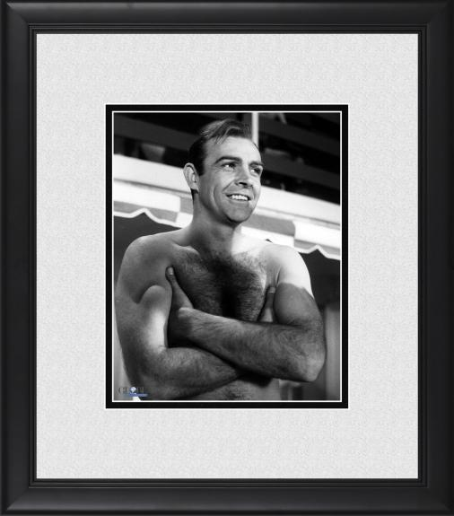 "Sean Connery Goldfinger Framed 8"" x 10"" Arms Crossed Photograph"