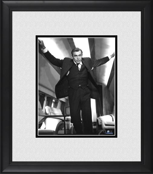 """Sean Connery Goldfinger Framed 8"""" x 10"""" on Plane Photograph"""