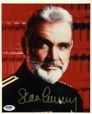 Sean Connery Hunt For Red October Signed 8X10 Photo PSA/DNA #X01384