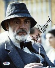 Sean Connery Indiana Jones Signed 8x10 Photo Psa/dna #x01382