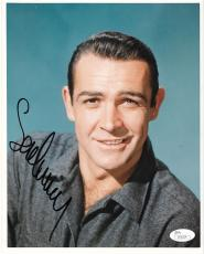 Sean Connery James Bond 007 Movie Signed Autographed 8x10 Photo Jsa Loa #z50224