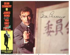 Sean Connery James Bond 007 Signed 11X14 Lobby Card Photo BAS #A00289