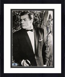 Sean Connery James Bond 007 Signed 8x10 Photo Autographed BAS #A02031