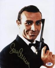 Sean Connery James Bond 007 Signed 8x10 Photo Psa/dna #x01380