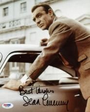 Sean Connery James Bond 007 Signed 8x10 Photo Psa/dna #x01385