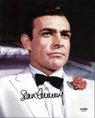 Sean Connery James Bond Signed 8x10 Photo Auto Graded Perfect 10! Psa #x03556