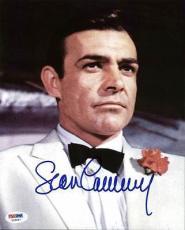 Sean Connery James Bond Signed 8X10 Photo Auto Graded Perfect 10! PSA #X03557