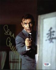 Sean Connery James Bond Signed 8X10 Photo Autographed PSA/DNA #X03560