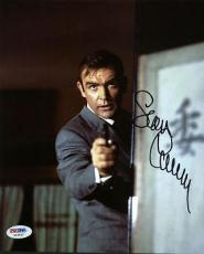 Sean Connery James Bond Signed 8X10 Photo Autographed PSA/DNA #X03561