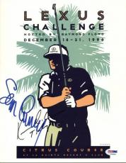 "Sean Connery & Kevin Costner ""Tin Cup"" Signed 8.5X11 Program Cover PSA #T08868"