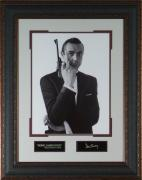 Sean Connery- Laser Engraved 11x14 Signature Wall Decor