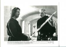 Sean Connery Richard Gere First Knight Original Movie Press Still Photo