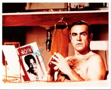 SEAN CONNERY (SCOTTISH ACTOR) Best Known for Portraying JAMES BOND in 7 BOND FILMS - Signed 9.5x8 Color Photo
