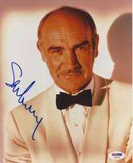 SEAN CONNERY Signed 8 x10 PHOTO with PSA/DNA LOA & Graded 10