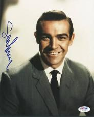 Sean Connery Signed 8X10 Photo Auto Graded Perfect 10! PSA/DNA #U01291