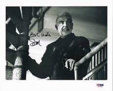 "Sean Connery Signed 8""x10"" Photo Bond The Rock Psa/dna Authenticated T03789"