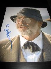 SEAN CONNERY SIGNED AUTOGRAPH 11x14 PHOTO IN PERSON JAMES BOND IN PERSON PROOF G