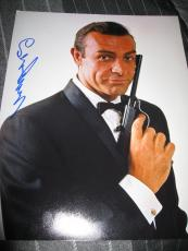 SEAN CONNERY SIGNED AUTOGRAPH 11x14 PHOTO JAMES BOND PROMO IN PERSON RARE COA E