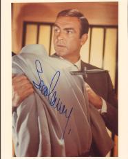 "SEAN CONNERY Signed Autographed 007 ""JAMES BOND"" 8x10 Photo JSA #X53360"