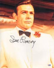 "SEAN CONNERY Signed Autographed ""JAMES BOND 007"" 11x14 Photo PSA/DNA #S14748"