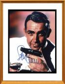 Sean Connery Signed Photo in Frame. James Bond 007. JSA