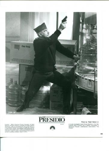 Sean Connery The Presidio Original Press Still Movie Photo