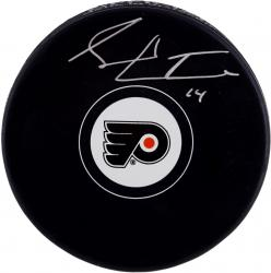 Sean Couturier Philadelphia Flyers Autographed Hockey Puck