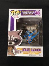 Sean Gunn Signed Guardians Of The Galaxy Rocket Raccoon Funko Pop Figure