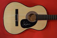 Sean Lennon Signed Autographed Acoustic Guitar John Lennon Son The Beatles A