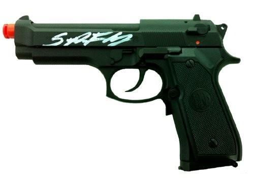 Sean Patrick Flanery Autographed/Signed The Boondock Saints Airsoft Beretta Full Size Black Pistol