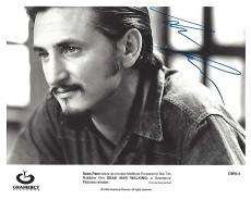 "SEAN PENN as MATTHEW PONCELET in 1995 Movie ""DEAD MAN WALKING"" Signed 10x8 B/W Photo"