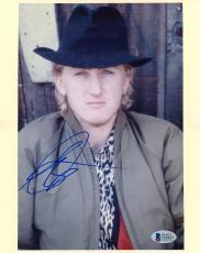 "Sean Penn Autographed 8"" x 10"" Crackers Black Hat Photograph - BAS COA"