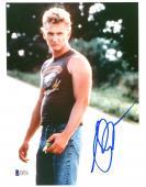 "Sean Penn Autographed 8""x 10"" At Close Range Sleevless Shirt Photograph - Beckett COA"