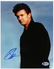"Sean Penn Autographed 8""x 10"" Black Jacket Photograph - PSA/DNA COA"
