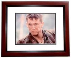 Sean Penn Autographed 8x10 Photo MAHOGANY CUSTOM FRAME