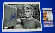 Sean Penn Movie Star Signed 8x10 Promo Photo Jsa Coa #m97084 Autograph