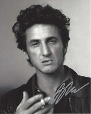 "SEAN PENN - Movies Include ""TAPS"", ""FAST TIMES at RIDGEMONT HIGH"" and ""AT CLOSE RANGE"" Signed 8x10 B/W Photo"