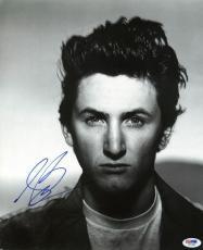 Sean Penn Signed 11.5X13.5 Magazine Page Photo PSA/DNA #I81951