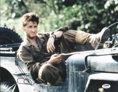 Sean Penn The Thin Red Line Signed 11X14 Photo PSA/DNA #U72989