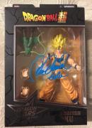 Sean Schemmel Signed Saiyan Goku Dragon Ball Super Dragon Stars Figure Jsa Coa