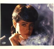 SEAN YOUNG Autograph BLADE RUNNER Signed 11x14 Photo BAS Beckett COA ~ RARE Auto