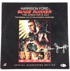 SEAN YOUNG Autograph BLADE RUNNER Signed LaserDisc cover w/ BAS Beckett COA