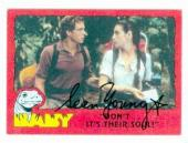 Sean Young autographed Baby card 1985 Topps #12